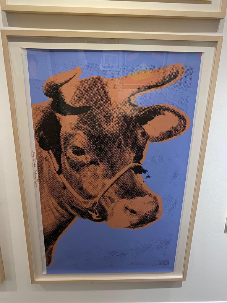 Andy Warhol Animal Print - Cow ll.11A