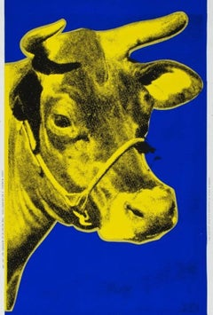 Cow (yellow), Andy Warhol