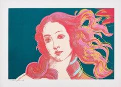 Details of Renaissance Paintings (Sandro Botticelli, Birth of Venus) F&S II.316