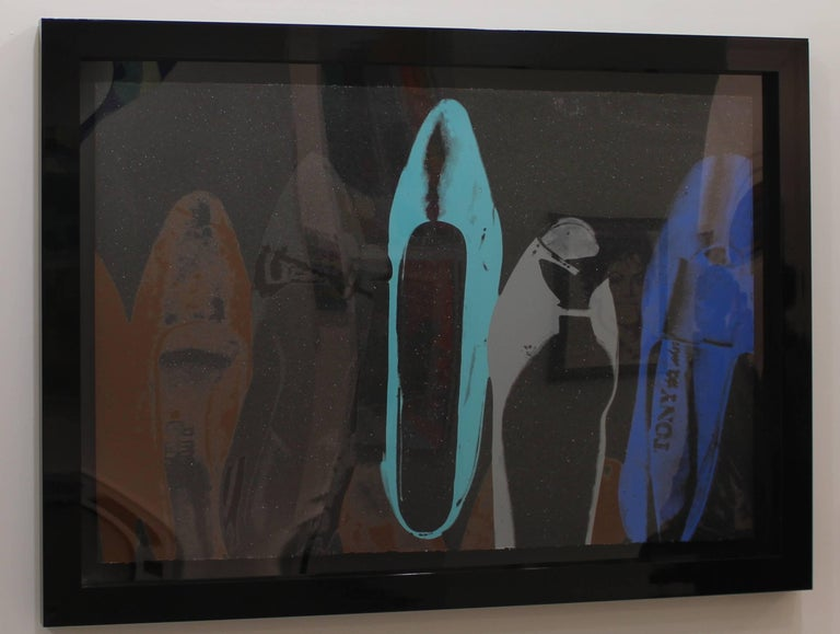 Diamond Dust Shoes (FS II.257)  - Print by Andy Warhol