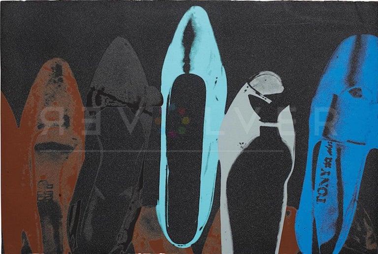 Andy Warhol Still-Life Print - Diamond Dust Shoes (FS II.257)