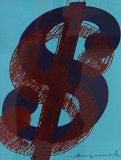 Dollar Sign, Blue (FS II.275) Trial Proof