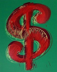 Dollar Sign, Green (Sunday B. Morning)