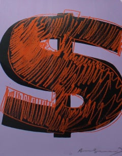 Dollar Sign, Orange (FS II.276)