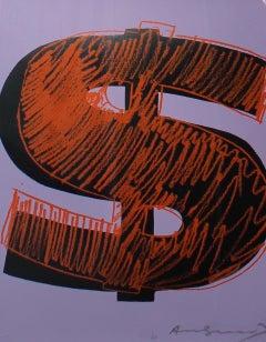 Dollar Sign, Orange (FS II.276)