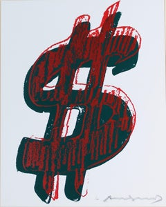 Dollar Sign, Red (FS II.278)