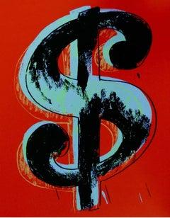 Dollar Sign, Red (Sunday B. Morning)