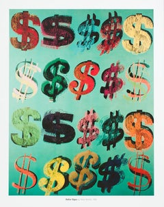 'Dollar Signs, 1981' Andy Warhol Lithograph