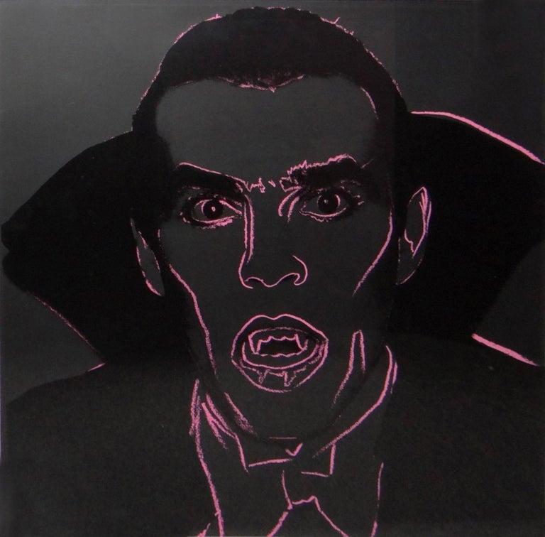 Andy Warhol Portrait Print - Dracula (FS II.264)