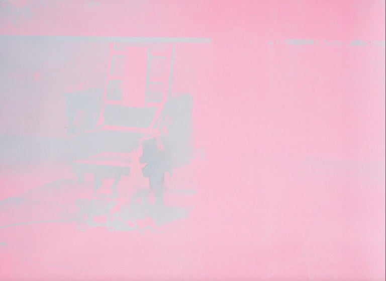 ELECTRIC CHAIR (F. & S. 75) - Print by Andy Warhol