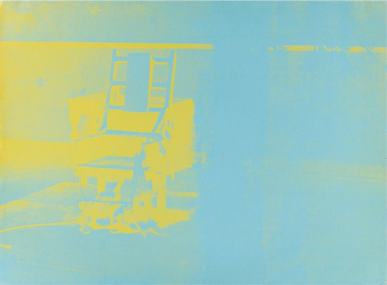 ELECTRIC CHAIR - Print by Andy Warhol