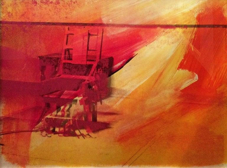 Andy Warhol Still-Life Print - Electric Chair (FS II.81)