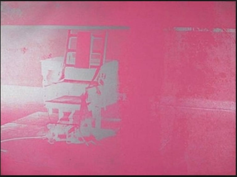 Andy Warhol Still-Life Print - Electric Chairs (#11.75)