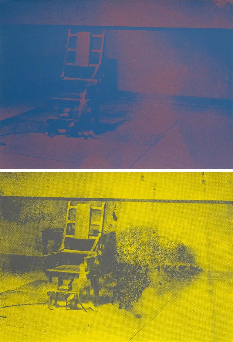 Electric Chairs - Print by Andy Warhol