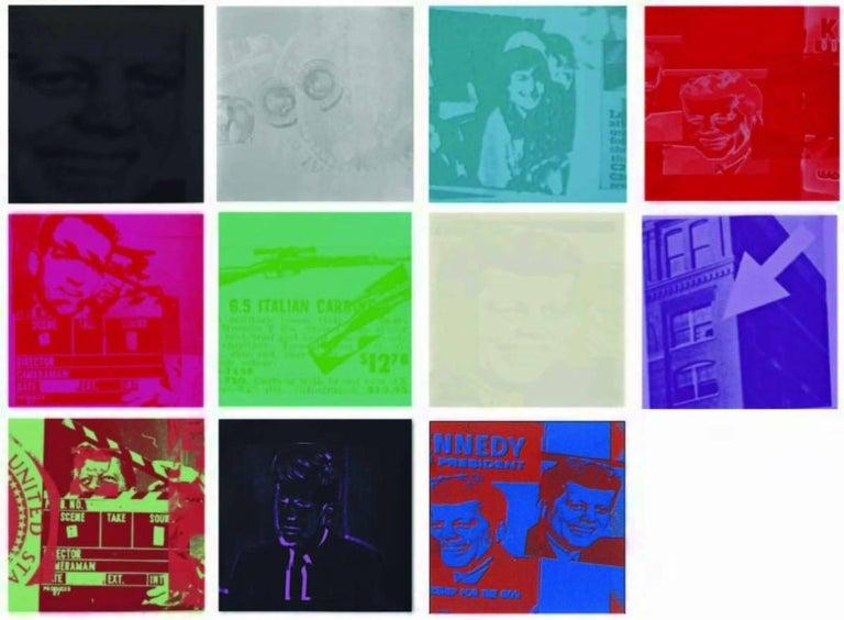 Andy Warhol Print - Flash, Complete Portfolio (FS II.32-42)