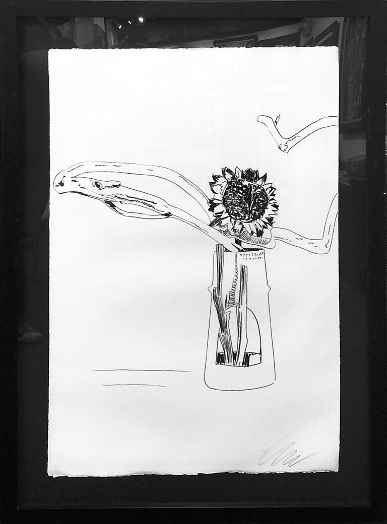 FLOWERS FS II.102 (BLACK AND WHITE) - Print by Andy Warhol