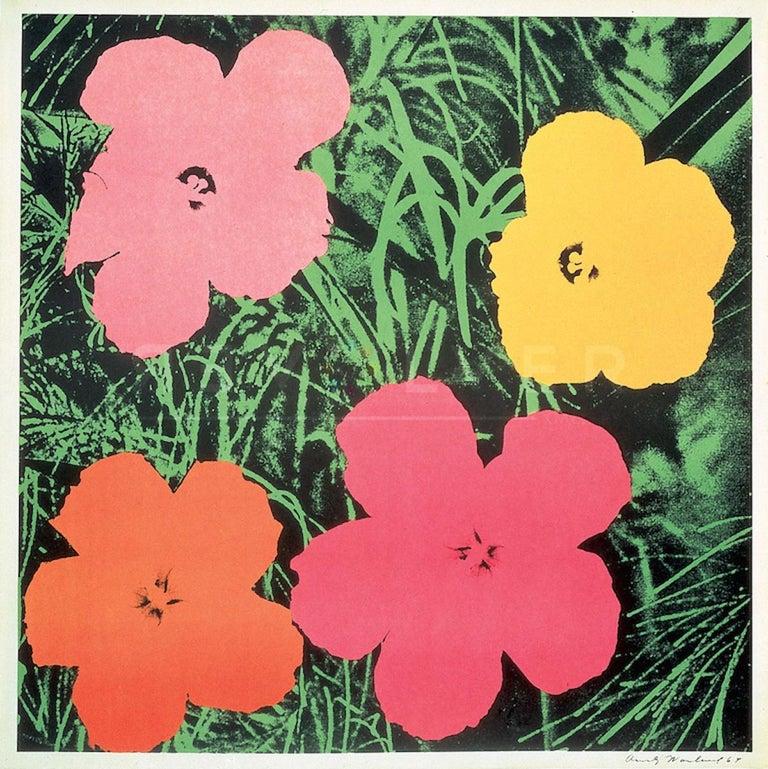 Flowers (FS II.6) - Pop Art Print by Andy Warhol