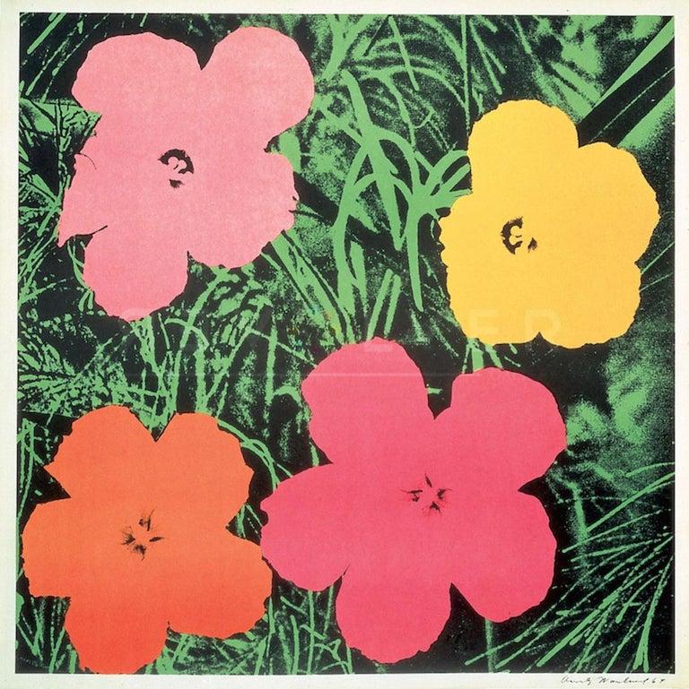 Flowers (FS II.6) - Print by Andy Warhol