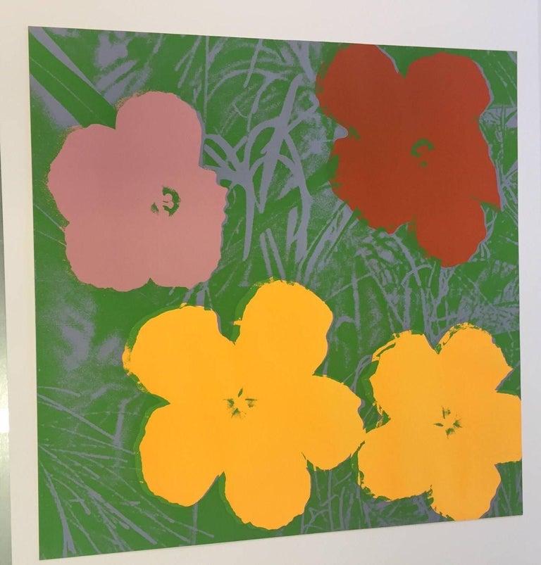 Flowers (FS II.65)  - Pop Art Print by Andy Warhol
