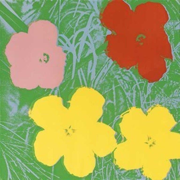 Flowers (FS II.65)  - Print by Andy Warhol