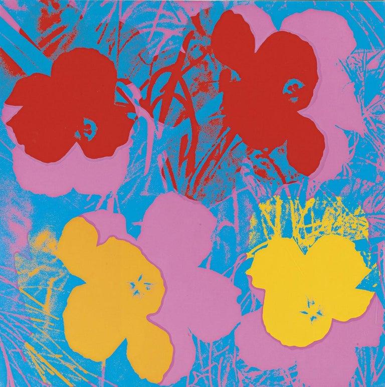 Flowers (FS II.66) - Print by Andy Warhol