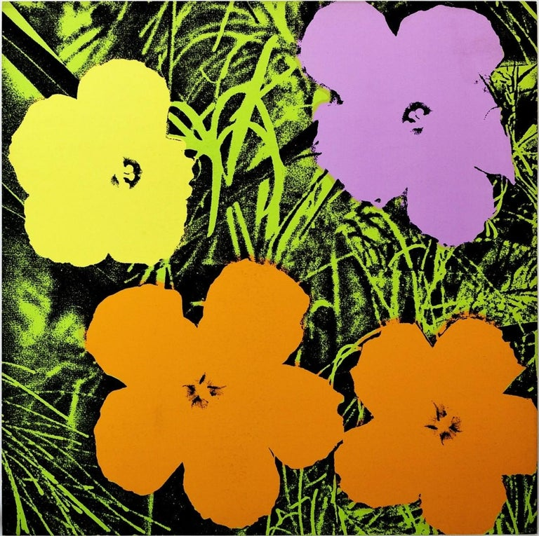 Flowers (FS II.67) - Print by Andy Warhol