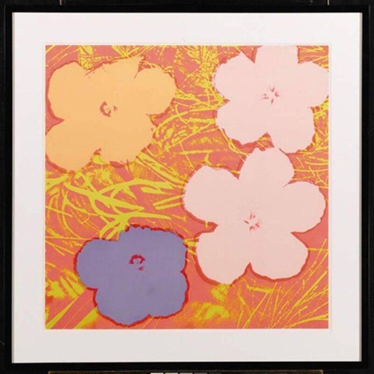 Flowers (FS II.69) - Print by Andy Warhol