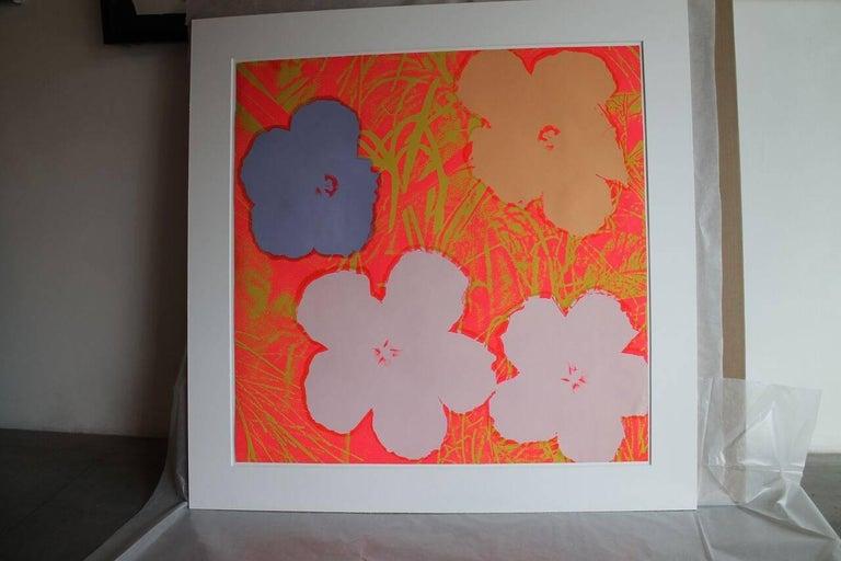 Flowers (FS II.69) - Pop Art Print by Andy Warhol