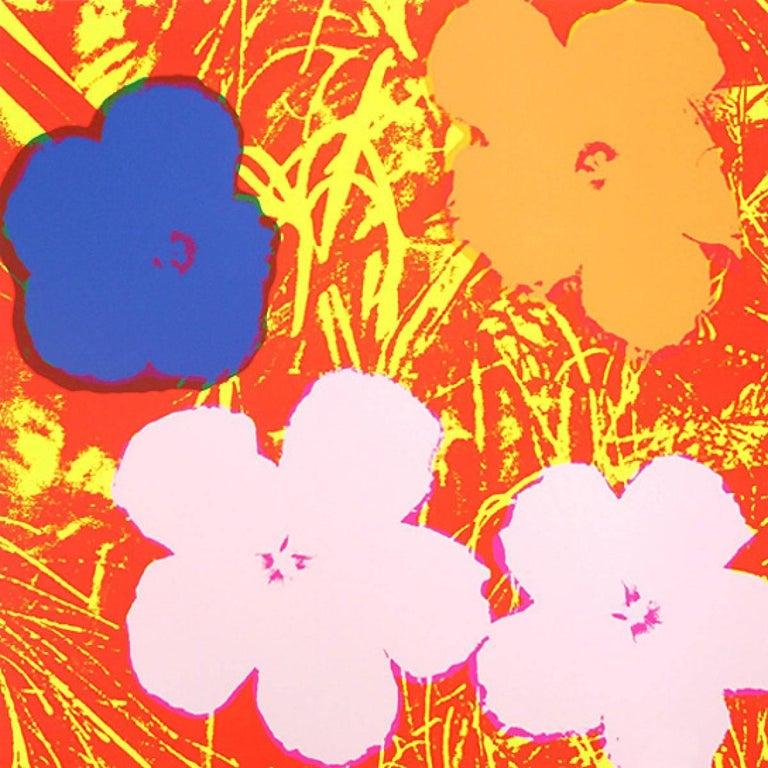 Andy Warhol Still-Life Print -  Flowers (FS II.69)