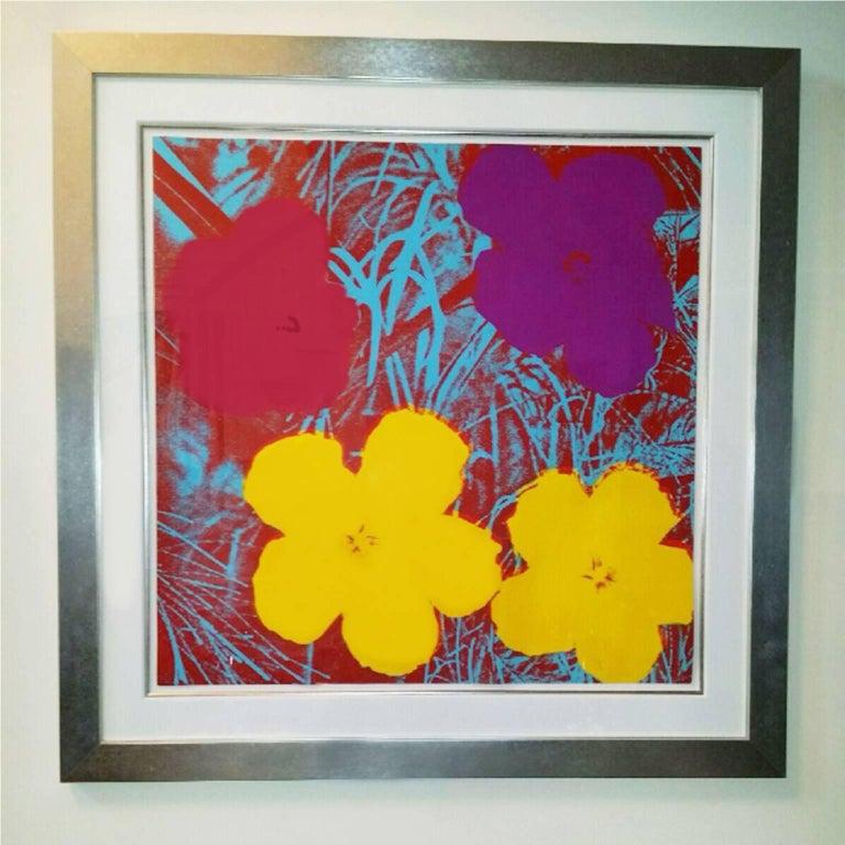 Flowers (FS II.71) - Print by Andy Warhol