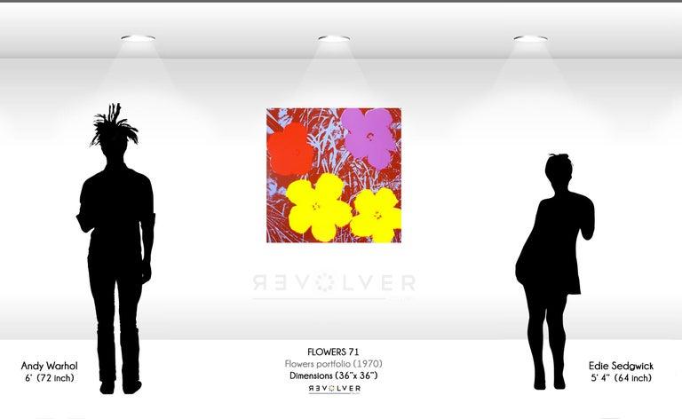 Flowers (FS II.71) - Pop Art Print by Andy Warhol