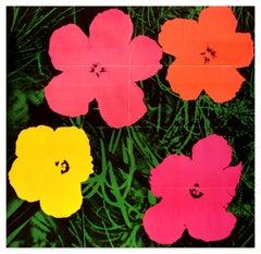 Flowers Original Mailer -  Offset Print on Paper - 1964