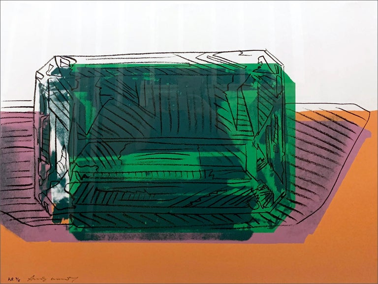 A work by Andy Warhol.