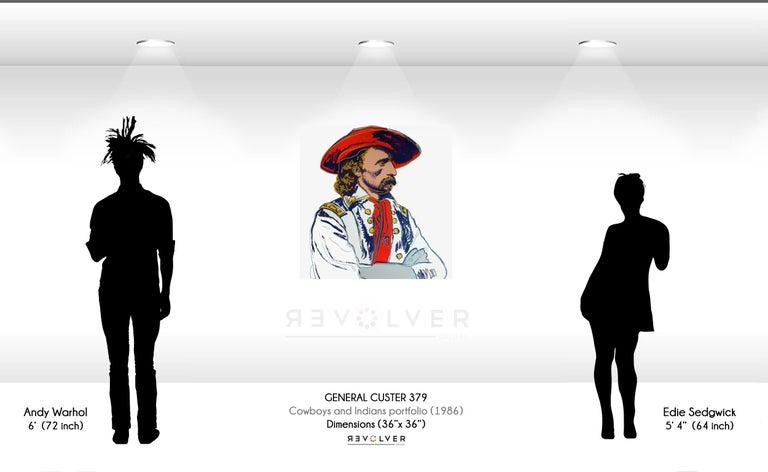 General Custer (FS II.379) - Print by Andy Warhol