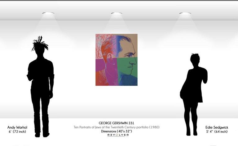 George Gershwin (FS IIB.231)  - Print by Andy Warhol
