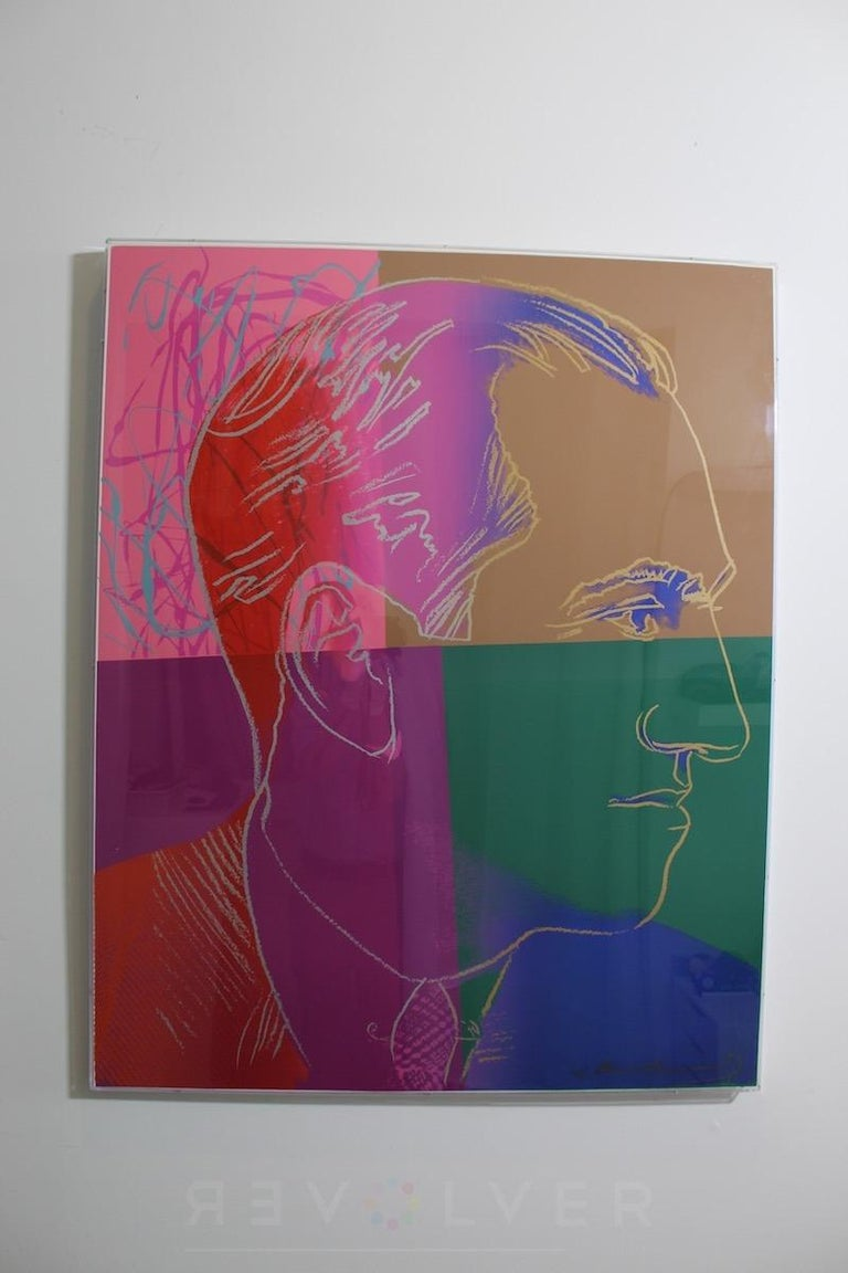 George Gershwin (FS IIB.231)  - Pop Art Print by Andy Warhol