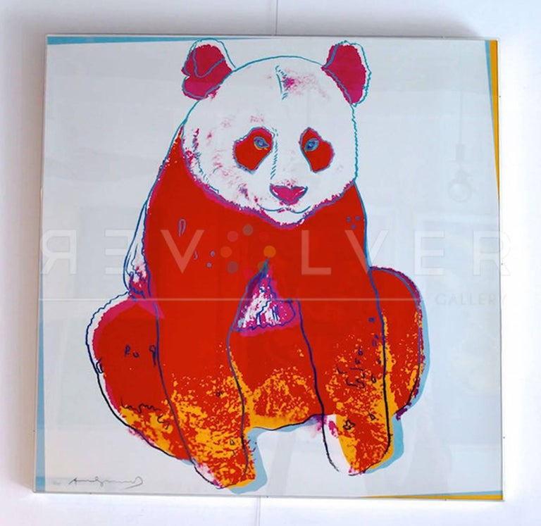 Giant Panda FS II.295 - Pop Art Print by Andy Warhol