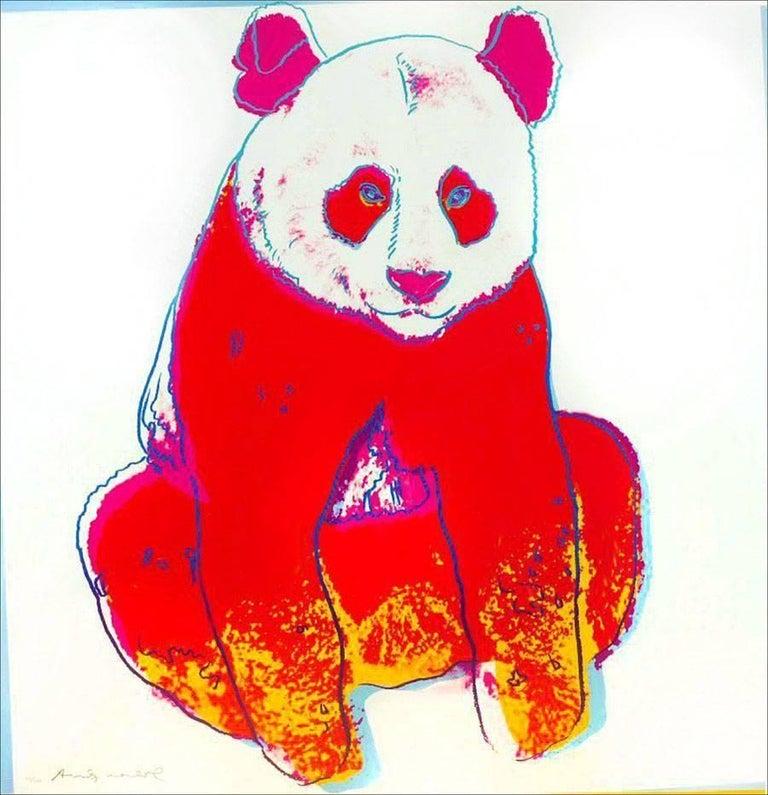 Giant Panda FS II.295 - Print by Andy Warhol