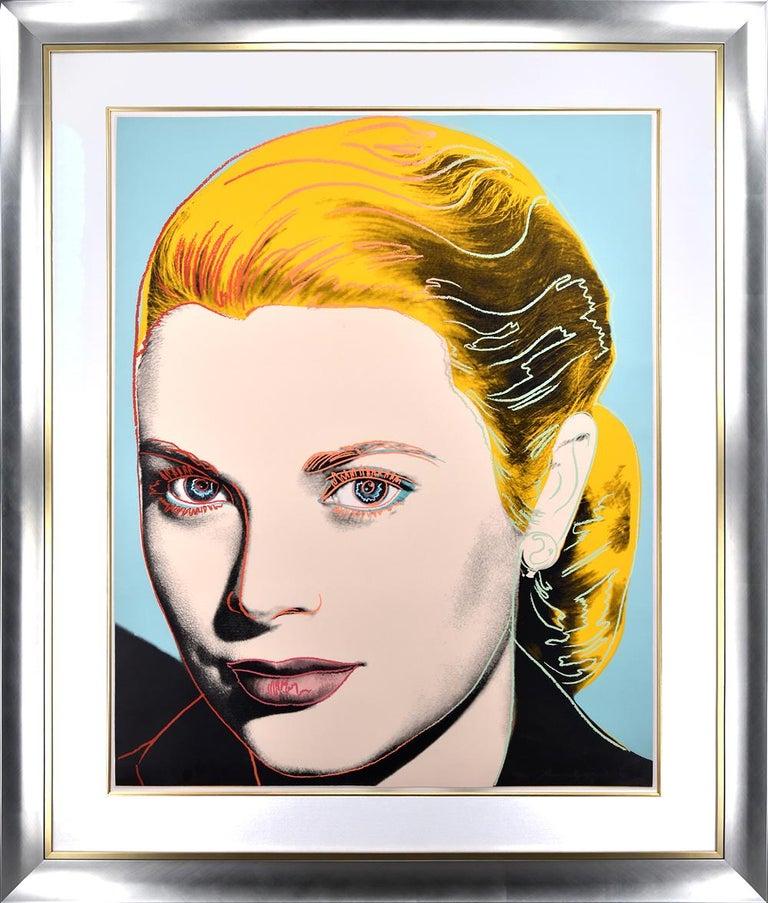 Grace Kelly, 1984 - Print by Andy Warhol