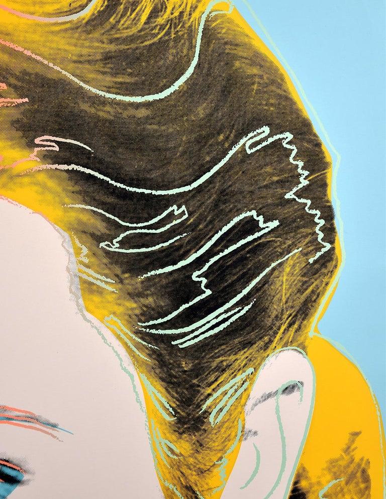 Grace Kelly, 1984 - Beige Portrait Print by Andy Warhol