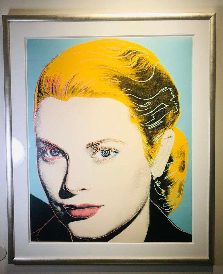Grace Kelly - Pop Art Print by Andy Warhol