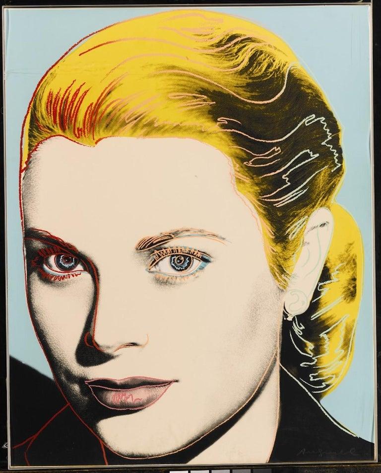 Grace Kelly (FS II.305)  - Print by Andy Warhol