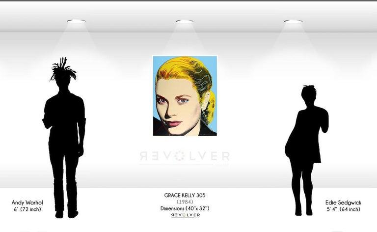 Grace Kelly (FS II.305)  - Pop Art Print by Andy Warhol