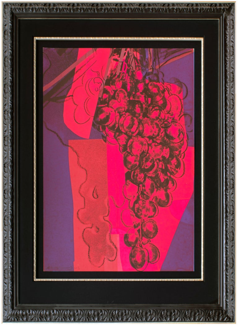 Grapes - Print by Andy Warhol