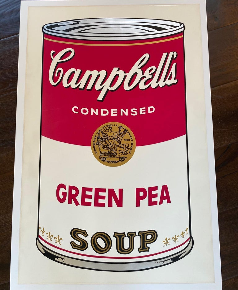 Green Pea from Campbell's Soup I, F&S II.50 - Print by Andy Warhol