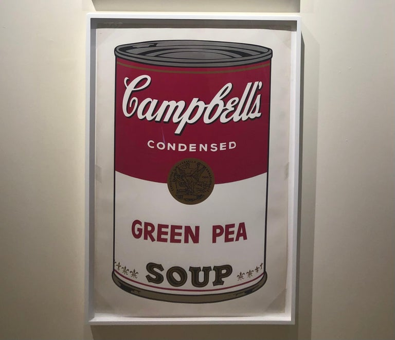 Green Pea from Campbell's Soup I, F&S II.50 - Contemporary Print by Andy Warhol