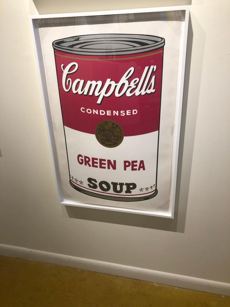 Green Pea from Campbell's Soup I, F&S II.50 - Beige Print by Andy Warhol