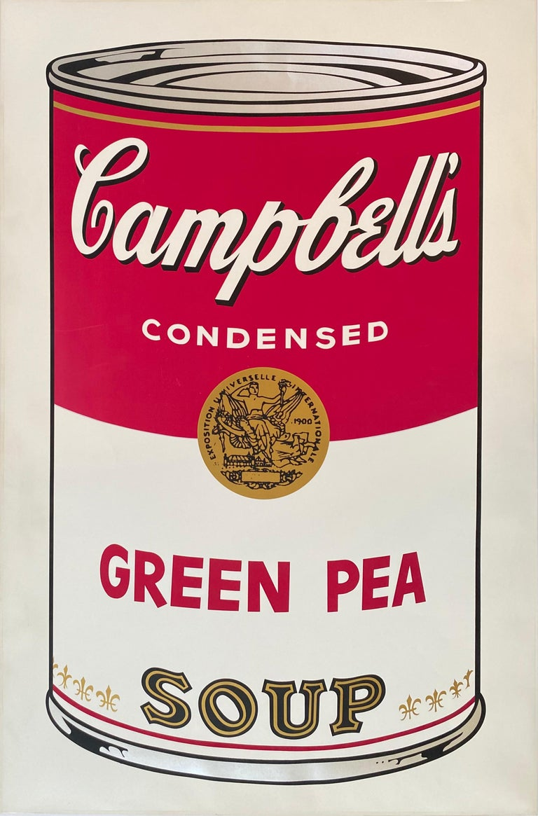 Andy Warhol Print - Green Pea from Campbell's Soup I, F&S II.50