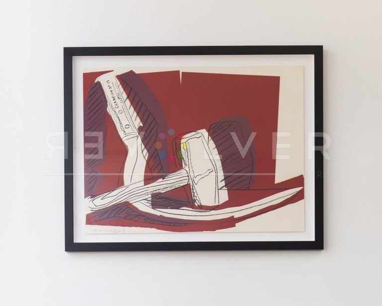 Hammer and Sickle (FS II.162) - Pop Art Print by Andy Warhol