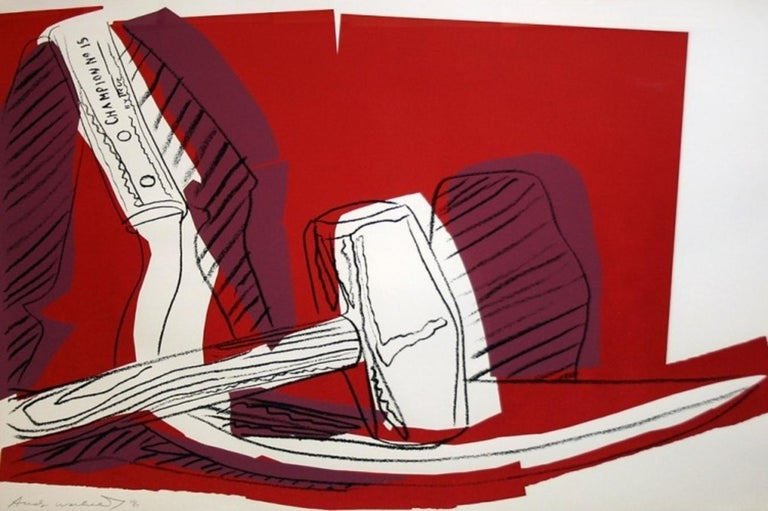 Hammer and Sickle (FS II.162) - Print by Andy Warhol